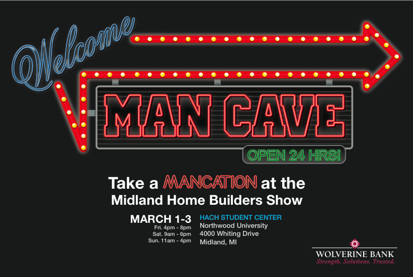 Epic Man Cave Builders Show : Sneak peek at the man cave midland home builder s show